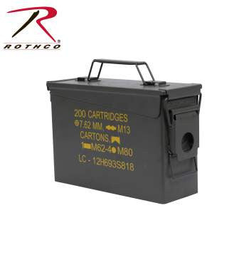 .30 & .50 Caliber Ammo Cans - Delta Survivalist
