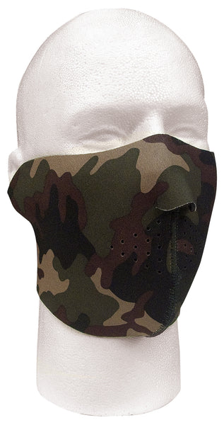 Reversible Neoprene Half Mask - Delta Survivalist