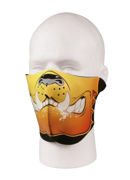 Neoprene Bulldog Half Facemask
