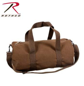 Canvas Shoulder Duffle Bag - 19 Inch - Delta Survivalist
