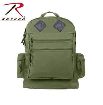 Deluxe Water Resistant Day Back Pack - Delta Survivalist