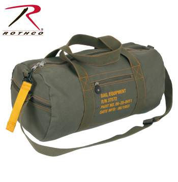Canvas Equipment Bag - Delta Survivalist