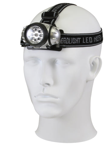 9-Bulb LED Headlamp - Delta Survivalist