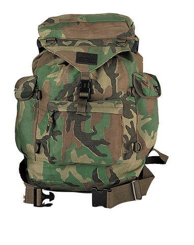 Canvas Outdoorsman Rucksack - Delta Survivalist