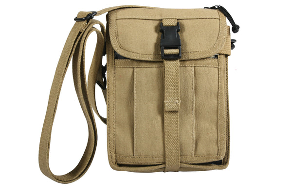 Canvas Travel Portfolio Bag - Delta Survivalist