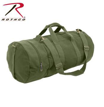Canvas Double-Ender Sports Bag - Delta Survivalist