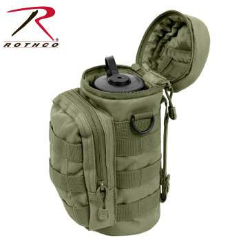 MOLLE Compatible Water Bottle Pouch - Delta Survivalist