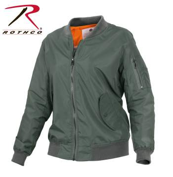 Womens MA-1 Flight Jacket - Delta Survivalist