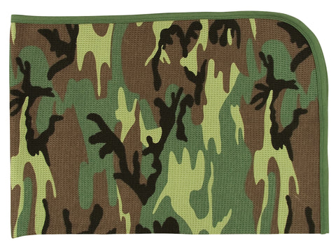 Infant Camo Receiving Blanket - Delta Survivalist