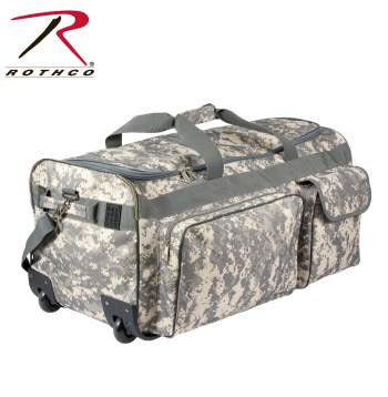 Camo 30'' Military Expedition Wheeled Bag - Delta Survivalist