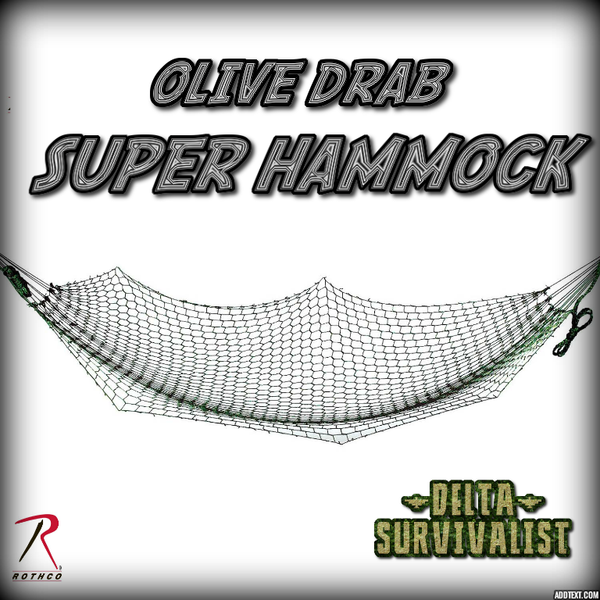 Super Hammock - Delta Survivalist