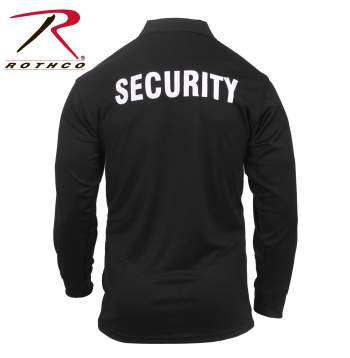Moisture Wicking Long Sleeve Security Polo - Delta Survivalist