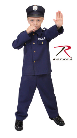 Kid's Police Costume - Delta Survivalist