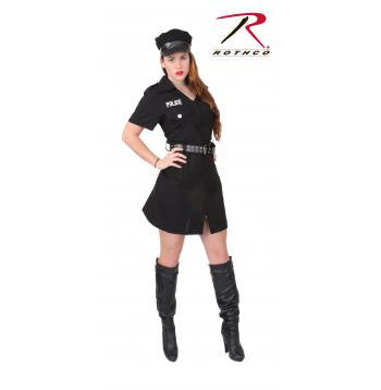 Women's Black Police Costume - Delta Survivalist