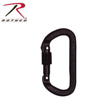 Locking D Carabiner - Delta Survivalist