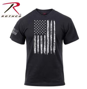 Distressed US Flag T-Shirt