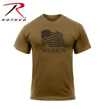 'Murica US Flag T-Shirt - Delta Survivalist