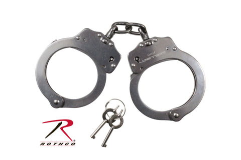 NIJ Approved Stainless Steel Handcuffs - Delta Survivalist
