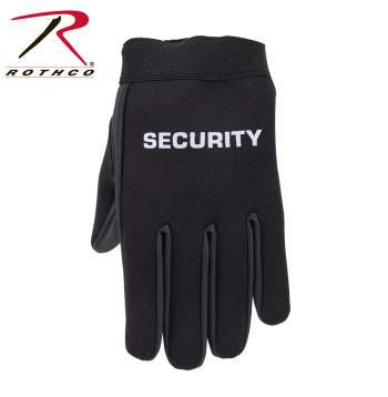 Security Neoprene Duty Gloves - Delta Survivalist