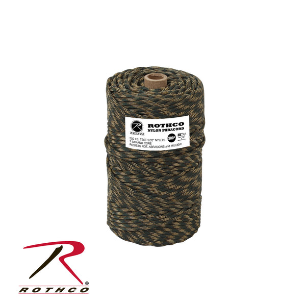 Nylon Paracord 550lb 300 Ft Tube - Delta Survivalist