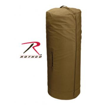 Canvas Duffle Bag w/ Side Zipper - Delta Survivalist