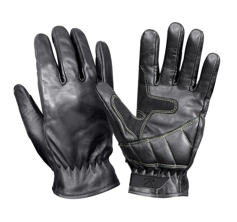 Leather Military Shooters Glove - Delta Survivalist