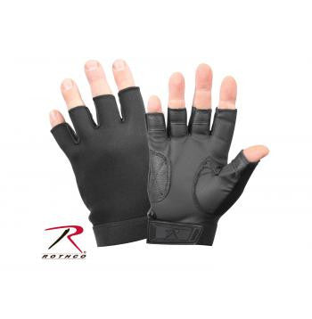 Fingerless Stretch Fabric Duty Gloves - Delta Survivalist