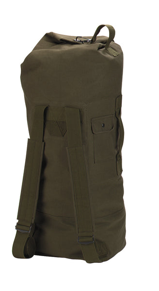 G.I. Style Canvas Double Strap Duffle Bag - Delta Survivalist