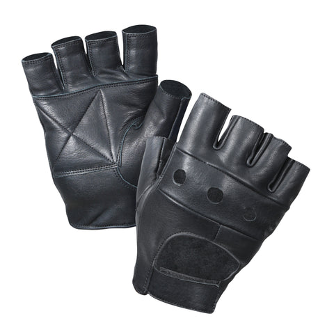 Fingerless Biker Gloves - Delta Survivalist