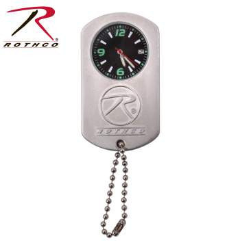 Silver Dog Tag Watch - Delta Survivalist