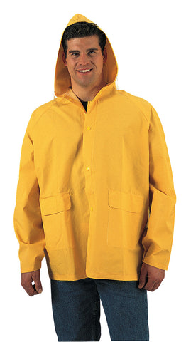PVC Rain Jacket-Yellow - Delta Survivalist