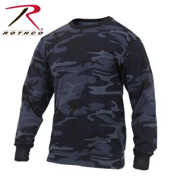 Long Sleeve Colored Camo T-Shirt - Delta Survivalist