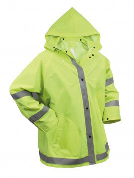 Safety Reflective Rain Jacket - Delta Survivalist