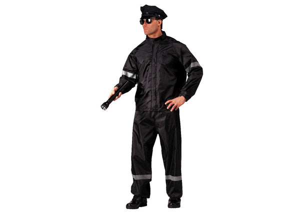 Hi-Vis 2 Piece Rain Suit With Reflective Tape