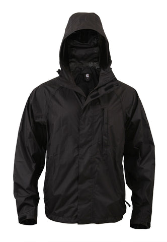 Packable Rain Jacket - Delta Survivalist