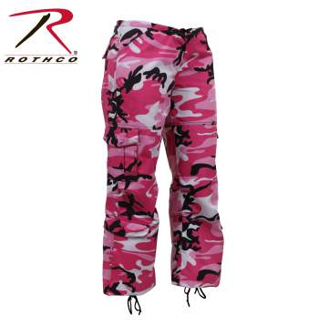 Womens Paratrooper Colored Camo Fatigues - Delta Survivalist