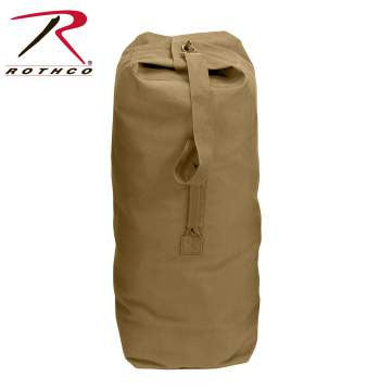 Heavyweight Top Load Canvas Duffle Bag - Delta Survivalist