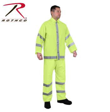 Reflective Rainsuit - Delta Survivalist