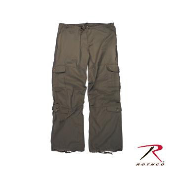 Vintage Paratrooper Fatigue Pants - Delta Survivalist