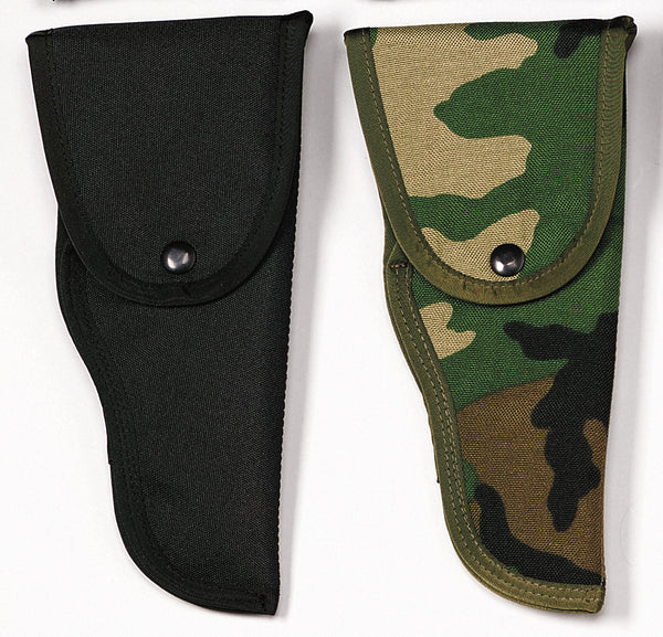 Black .45 Cal Enhanced Nylon Hip Holster