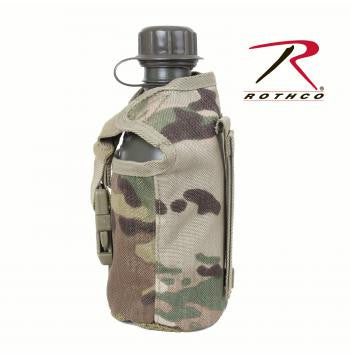 MultiCam MOLLE Compatible Canteen Cover - Delta Survivalist