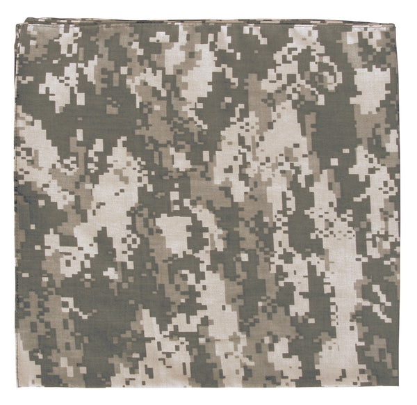 Digital Camo Bandana - Delta Survivalist
