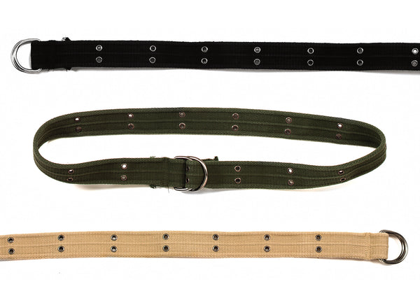 Vintage D-Ring Belts