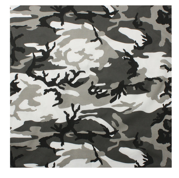 Colored Camo Bandana - Delta Survivalist