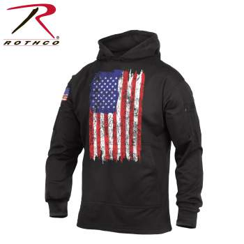 U.S. Flag Concealed Carry Hoodie - Delta Survivalist