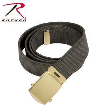 64 Inch Military Color Web Belts