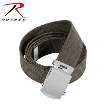 54 Inch Military Color Web Belts