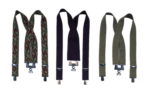 Camo Pants Suspenders - Delta Survivalist