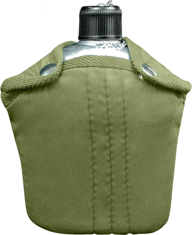 G.I. Style Canteen and Cover - Delta Survivalist