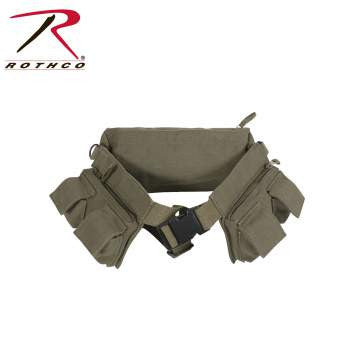 Canvas 7 Pocket Fanny Pack - Delta Survivalist